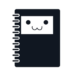 Notebook notepad paper vector