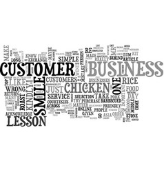 Win your customer over with simple courtesies vector