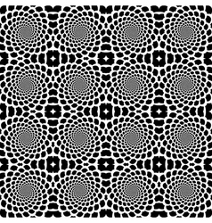 Design seamless helix movement snakeskin pattern vector