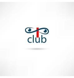 Club symbols vector image vector image