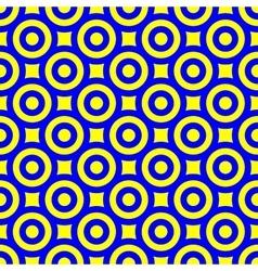 Polka dot geometric seamless pattern 2805 vector image