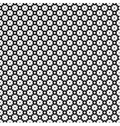 seamless pattern monochrome lattice texture vector image vector image