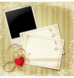 vintage retro invite vector image vector image