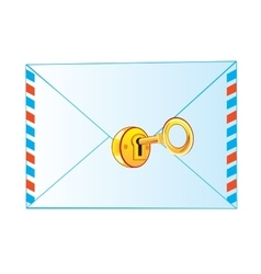 Envelope on lock vector