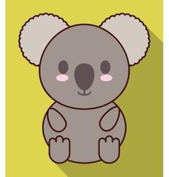 Kawaii koala icon cute animal graphic vector
