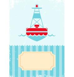 buoy vector image vector image