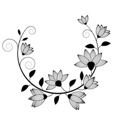 flowers image vector image vector image