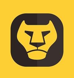 icon leon vector image