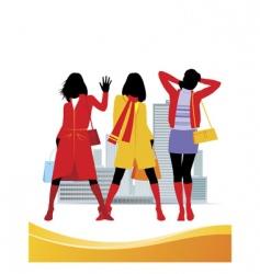 female fashion vector image