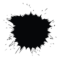 Ink dot vector
