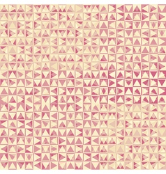 pink triangles vector image