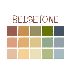 Beigetone color tone without code vector