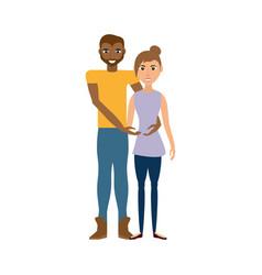 couple romantic lifestyle image vector image