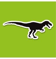 Dinosaur icon design prehistoric animal vector