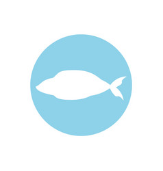 Fish fresh food image icon vector
