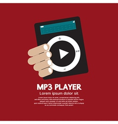 MP3 Player vector image vector image