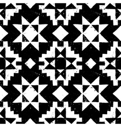 Native american geometric pattern vector image