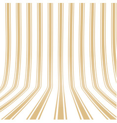 Vertical striped yellow background 3d effect vector