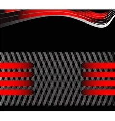Black and red background message board for vector