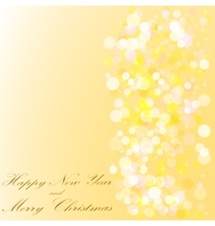Merry christmas and a happy new year background vector