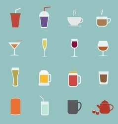 Drink icon vector