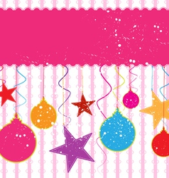 decorative and festival background vector image