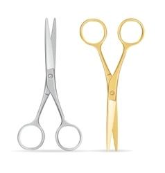 Scissors Set vector image