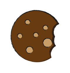 cookie icon image vector image vector image