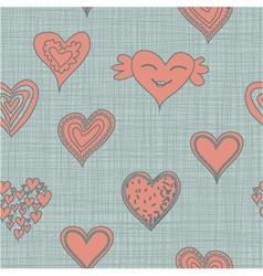 heart pastel vector image vector image