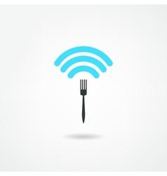 wi-fi icon vector image vector image