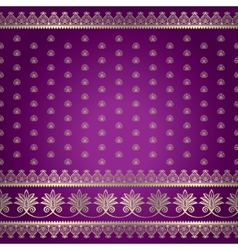 Indian baskground pattern vector image