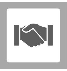 Acquisition icon vector