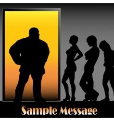 clubbing vector image vector image