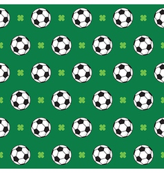 Football or Soccer Pattern vector image