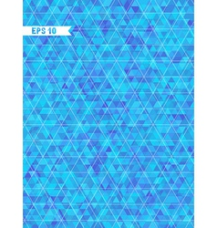 Geometric blue background with place for your text vector image