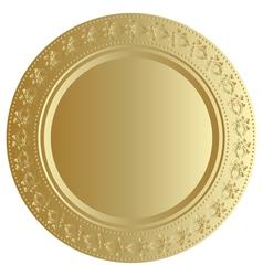 gold bin vector image vector image