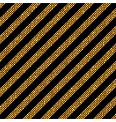Parallel diagonal lines gold sequins stars vector