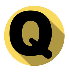 Letter q sign design template element vector