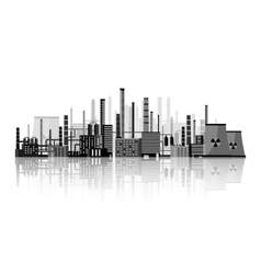 Industry power plant vector