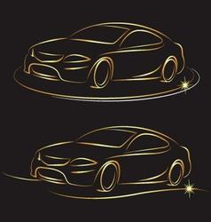 auto design vector image