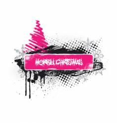 emo Christmas vector image vector image