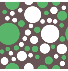 Seamless pattern of circles vector image vector image