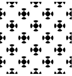 seamless pattern simple monochrome texture vector image vector image
