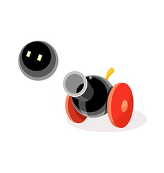 Icon cannon vector