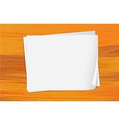 Empty bondpapers vector image