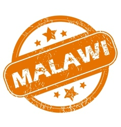 Malawi grunge icon vector