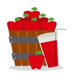 Delicious drink vector