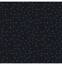 Dark Abstract Triangle Seamless Pattern vector image