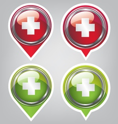First aid icon vector image vector image