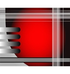 Red background message board for text and message vector
